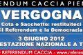 Torino, 3 giugno: Manifestazione Nazionale Restituiteci il Referendum e la Democrazia!