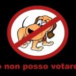 io-non-posso-votare; fonte: http://www.manifestoantispecista.org/web/un-voto-per-gli-animali/