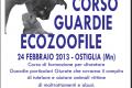 La Guardia Ecozoofila: un aiuto concreto per gli animali (iscrizione corsi Mantova).